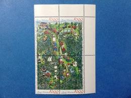 1994 SAN MARINO FRANCOBOLLI NUOVI IN BLOCCO STAMPS NEW MNH** CENTENARIO TOURING CLUB ITALIANO - Unused Stamps