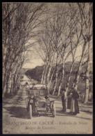 Postal SANTIAGO DO CACEM  Estrada De Sines Portugal (ponte De Cacem). Edição DUARTE / Cliches VILHENA (Setubal) Portugal - Setúbal