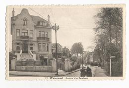 Watermael-Boitsfort Avenue Van Becelaere Carte Postale Ancienne Animée - Watermael-Boitsfort - Watermaal-Bosvoorde