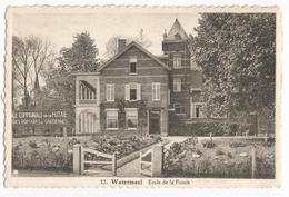 Watermael-Boitsfort Ecole Communale De La Futaie Carte Postale Ancienne - Watermael-Boitsfort - Watermaal-Bosvoorde