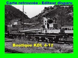 BVA 641-03 - Wagon Grue En Gare - VILLEFRANCHE-VERNET-LES-BAINS - Pyrénées Orientales - SNCF - Other Municipalities