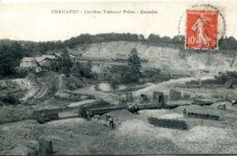 N°5821 T -cpa Chailloué -carrières Thébault Frères- Ensemble- - Otros Municipios