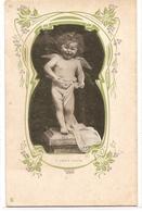 K 588  , VERY OLD  FANTASY POSTCARD  , CHILDREN - Enfants
