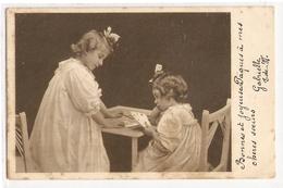 K 592  , VERY OLD ' 1904)  FANTASY POSTCARD  , CHILDREN , SCENES - Enfants