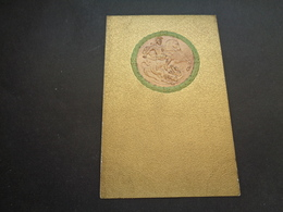Carte ( 1001 ) Fantaisie  Fantasie  Carte Gaufrée  Reliëf  -  Sint - Joris  Draak  Dragon - Fantaisies