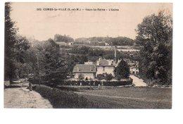 REF 475 :  CPA 77 Combs La Ville Vaux La Reine L'usine - Combs La Ville