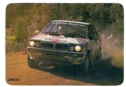 1988 Pocket Poche Calendar Calandrier Calendario Portugal Carros Cars Lancia - Calendars