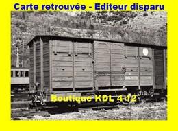 BVA 641-04 - Wagon De Secours En Gare - VILLEFRANCHE-VERNET-LES-BAINS - Pyrénées Orientales - SNCF - Other Municipalities