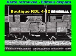 BVA 641-05 - Wagon Tombereau En Gare - VILLEFRANCHE-VERNET-LES-BAINS - Pyrénées Orientales - SNCF - Other Municipalities
