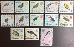 Gambia 1966 Birds Set MNH - Vögel