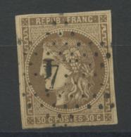 France (1870) N 47 (o) - 1870 Emissione Di Bordeaux