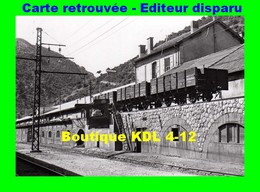BVA 641-07 - Wagons Tombereau En Gare - VILLEFRANCHE-VERNET-LES-BAINS - Pyrénées Orientales - SNCF - Francia