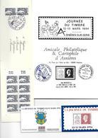 FRANCE JOURNEE DU TIMBRE ASNIERES - Postdokumente