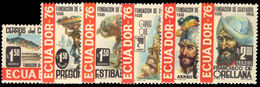 Ecuador 1976 Guayaquil Unmounted Mint. - Ecuador