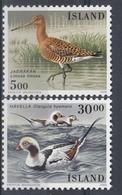 +Iceland 1988. Birds. Michel 691-92. MNH(**) - 1944-... Republique