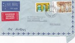 Australie Lettre 1979 2 Timbres - 1966-79 Elizabeth II