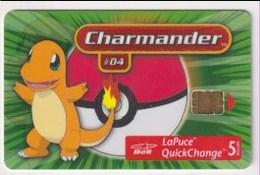 TK 23104 CANADA - Chip Pokémon 30 000ex. - Canada