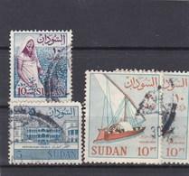 Soudan 4 Timbres Oblitérés - Soudan (1954-...)