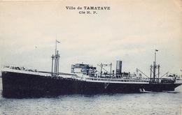 Bateau - Paquebot - Ville De TAMATAVE - Cie H.P. - Paquebots
