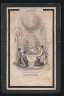 MARIA GALLE  GENT 1831   1890   -- 2 AFBEELDINGEN - Décès