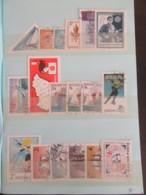 Petit Prix ! Carnet De Timbres Hongrie / Magyar Posta, Bulgarie, Tchécoslovaquie, Etc ... Oblitérés - Très Bon état - Collections (with Albums)
