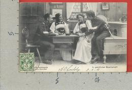 CARTOLINA VG SVIZZERA - En Joyeuse Compagnie - In Gemütlicher Gesellschaft ! - 9 X 14 - 1907 - Svizzera