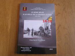LE GENIE BELGE à LA VEILLE DE LA GRANDE GUERRE 14 18 Manoeuvre 1913 Dinant Namur Aérostier Ballon Meuse Fort Anvers - Oorlog 1914-18