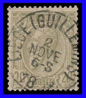 """COB N° 47 - Oblitération CONCOURS """"LIEGE GUILLEMIN"""" - 1884-1891 Leopold II."""