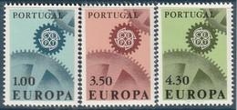 PORTUGAL - N°1007/9 ** (1967) Europa - Unused Stamps