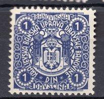 1930? KINGDOM OF YUGOSLAVIA, SLOVENIA, DRAVSKA BANOVINA, 1 DIN REVENUE STAMP - Slovenia