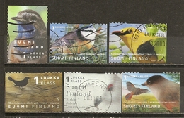 Finlande Finland Oiseaux Birds Obl - Used Stamps