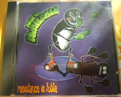 CD  HARDCORE - NOT AVAILABLE / RESISTANCE IS FUTILE - LOST AND FOUND RECORDS - Hard Rock & Metal