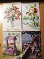 Lot De 418 Cpa Fantaisie En Bon Etat - Cartes Postales
