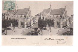 REF 475 :  CPA 37 Stéréoscopie TOURS Notre Dame - Tours