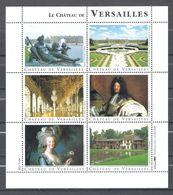 TIMBRES STAMP VIGNETTE De COLLECTION POUR LES MUSEES Le Chateau De Versailles - France