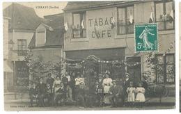 VIBRAYE    BELLE  ANIMATION  TABAC CAFE GROS PLAN - Vibraye