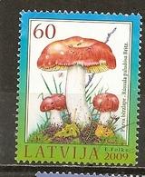 Lettonie Latvia 2009 Champignon Mushroom Obl - Letland