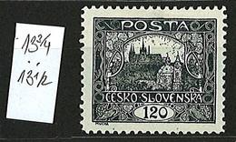 1919 Czechoslovakia Mi 32 * MH Minister Perforation 13 3/4 X 13 1/2 - Ungebraucht