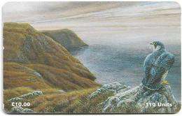 Isle Of Man - Chip - Manx Fauna - Peregrine Falcon, 110U, 1997, 5.000ex, Used - Isola Di Man