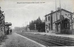 MIGNIERES - GONDREVILLE -  LA GARE - Autres Communes