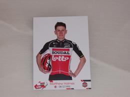 Matthew Holmes - Lotto Soudal - 2020 - Cycling