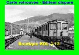 BVA 641-09 - Automotrice Z 100 En Gare - SAILLAGOUSE - Pyrénées Orientales - SNCF - Other Municipalities