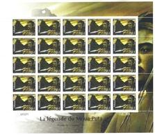 Polynésie Française Année 2010 Timbre 934 Feuille Feuillet Légende Du Moua Puta - Polynésie Française