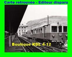 BVA 641-11 - Automotrice Z 100 En Gare - LATOUR DE CAROL - Pyrénées Orientales - SNCF - Other Municipalities