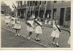 PÂTURAGES   Photo Faite à La Procession De 1954. Grand Format. - Mons