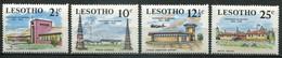 Lesotho Mi# 67-70 Postfrisch MNH - Raidio Airplane - Lesotho (1966-...)