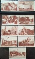 9 CARTES, CASABLANCA (issues D'un Carnet Sauf Erreur), Verso Divisé, Blanc, éd LL -Levy Et Neurdein Réunis, Non écrites - Casablanca