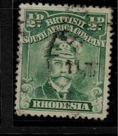 RHODESIA 1913 1/2d KGV Scarce P14x15 SG 208a U #BHG46 - Altri