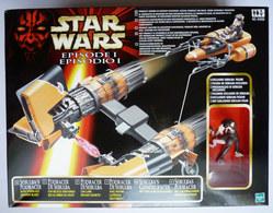 BOITE FIGURINE STAR WARS 1999 LA GUERRE DES ETOILES - VAISSEAU SEBULBA PODRACER - Power Of The Force