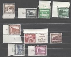 Drittes Reich ,  Nr 634-42 Postfrisch, Die 12er Als Zusammendruck - Ungebraucht